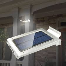 XEPA 600 Lumen 160 Degree Outdoor Motion Activated Solar Powered Solar Powered Led Lights For Homes