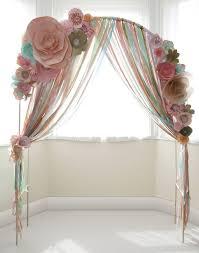 Paper Flower Archway 14 Beautiful Wedding Arch Ideas Paper Flowers Wedding