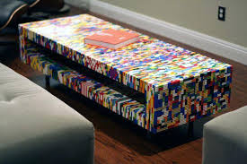 lego coffee table coffee table gives me the idea of making a storage or kids with lego coffee table