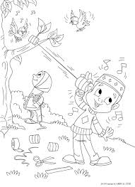 Muslim Coloring Pages With Islamic Coloring Page Featuring A Cute