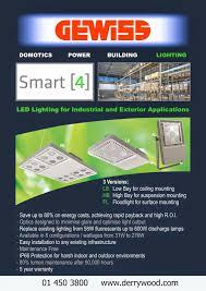 Minimise Led Lighting Derrywood Agencies And Distributors Gewiss Smart 4 Led