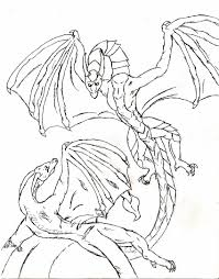 Awesome Free Printable Dragon Coloring Pages For Kids Free