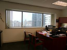 manly manly office furniture important lawyer type paperwork but i gotta tell ya he s got quite the view of downtown miami from that office