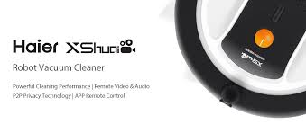 haier vacuum robot. [hk stock]haier xshuai shuaixiaobao robot vacuum cleaner 3-cleaning modes 4- haier