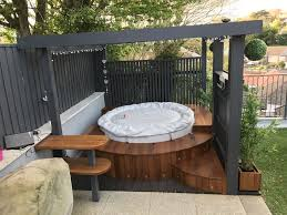 Lazy spa hot tub, iroko surround | House/ | Pinterest | Lazy spa, Hot tubs  and Pergolas