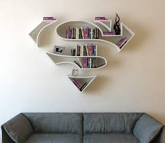 Creative image furniture Furniture Design Creativefurnituresuperherobookshelvesinteriordecoration 1 Kickvick Awesome Superhero Bookshelves With Various Designs Vuingcom
