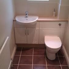 downstairs cloakroom floor tiling