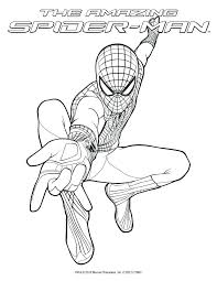 Spiderman Drawing Pages At Getdrawingscom Free For Personal Use
