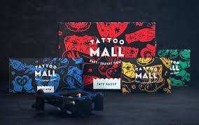 Openmint Tattoo Mall Brand Design World Brand Design Society