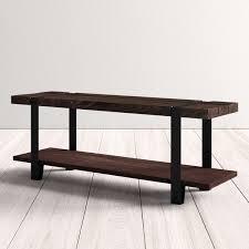 Dodds <b>Solid</b> Wood Shelves <b>Storage Bench</b> & Reviews | AllModern