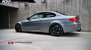 BMW 5 Series bmw e92 price : Matte Silver BMW E92 M3 - ADV5 M.V2 SL Gloss Black Wheels - ADV.1 ...