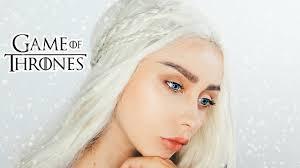 game of thrones makeup transformation daenerys targaryen
