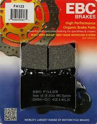 Ebc Brake Pads Chart Fa123 Organic Rear Ebc Brake Pads For Yamaha