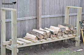 firewood rack plans best diy log holder markthedev com