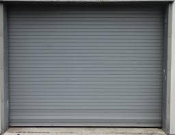 metal door texture. Grey Roll Up Metal Door Texture