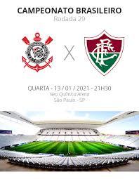 Corinthians x Fluminense: veja onde assistir, escalações, desfalques e  arbitragem | brasileirão série a