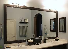 framed bathroom mirrors. Wonderful Framed Bathroom Mirrors Ideas Diy Mirror Frame Fresh How S