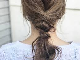 ピンを1本も使わないから簡単大人のリラックスまとめ髪アレンジ8選