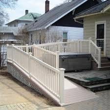 Deck Project Six 4 Feet By 50 Feet Handicap Ramp Pocono