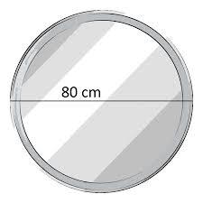 Fackelmann Spiegel Rund Mit Led Beleuchtung 80 Cm Fms Spiegelelement