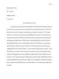 serial essay criminal law crimes