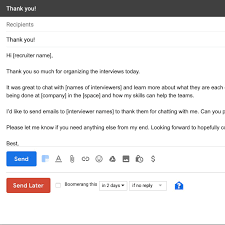 How To Write Good Follow Up Emails After The Interview With