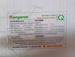 Bếp điện từ đơn Kangaroo KG20IH1 / KG20IH6 hoặc KG365i kèm nồi lẩu - Bảo  hành chính hãng 1 năm - 549.999VNĐ - KHÔNG THIẾU CÁI GÌ