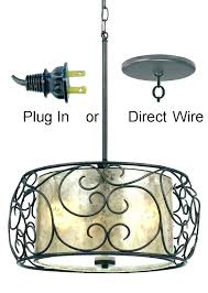 swag chandeliers plug in chandelier hanging light fixtures gorgeous mica bronze iron drum swag full size