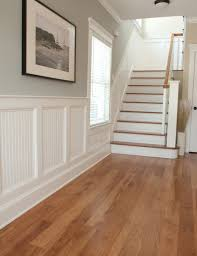 Ideas For Painting Wainscoting Oversized Paint Samples Wainscoting Entry Hall And Light Blue
