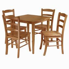Amazoncom Winsome Groveland 5 Piece Wood Dining Set Light Oak