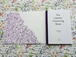 Liberty London Colouring Bookl