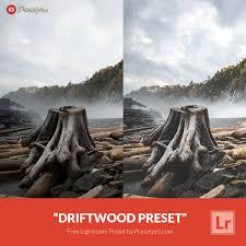 landscape free free lightroom preset driftwood download now