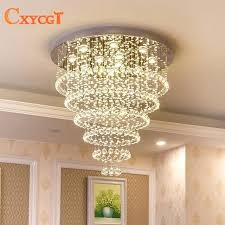 cottage chandelier modern crystal chandelier lighting large pendant lamp fixtures hotel projects staircase lamps restaurant cottage