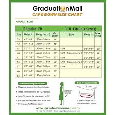 Herff Jones Size Chart Herff Jones Graduation Gown Size Chart Best Picture Of