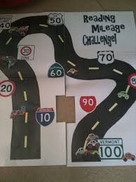 Interstate Mileage Chart Reading Mileage Challenge Road For Wall And Kids Have Cars