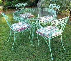 painting wrought iron patio furniture how to paint wrought iron furniture idea outdoor wrought iron patio