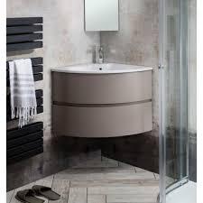 bauhaus svelte matt coffee corner vanity unit basin