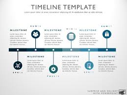 product timeline template six phase project timeline graphic