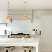 Industrial Kitchen Pendant Lights Copper Kitchen Lighting Coolicon Industrial Copper Pendant Light