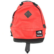 x north face the north face 17aw leather day pack leather day pack backpack