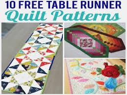 free valentine quilted table runner patterns Archives ... & 10 FREE Table Runner Quilt Patterns You'll Love | Free Easy Quilted Table  Runner ... Adamdwight.com