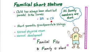 Short Stature Growth Chart Familial Short Stature