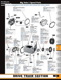 discount 5 speed transmission parts for big twins from mid usa for