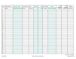Blank Inventory List Unusual Restaurant Kitchen Prep List Pictures Design