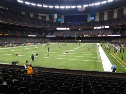 Mercedes Benz Superdome View From Plaza Level 154 Vivid Seats