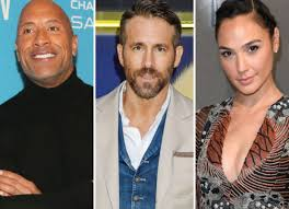 Apparently @netflix now has a 'digital' arm. Dwayne Johnson Ryan Reynolds And Gal Gadot S Netflix Film Red Notice Starts Rolling Bollywood News Bollywood Hungama