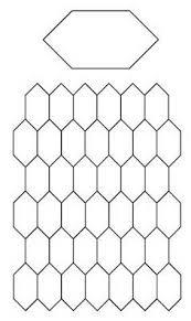 Free English Paper Piecing Honeycombs Pattern | DIY Crafts - Free ... & Free English Paper Piecing elongated hexagons or 'Honeycomb' Pattern Adamdwight.com