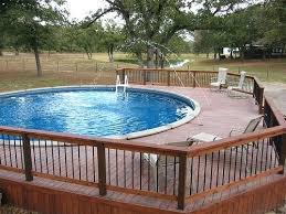 Price Of Above Ground Pool With Deck Stylish Cost An Mozano Info For