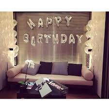 13x <b>Happy Birthday</b> Alphabet Letters <b>Balloon</b> Birthday Party ...