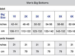 Men S Bottoms Size Chart Champion Vapor Big Tall Mens Shorts Ch402